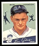 1934 Goudey Reprint #68  Bob Johnson  Front Thumbnail