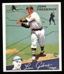 1934 Goudey Reprints #47  John Frederick  Front Thumbnail