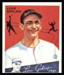 1934 Goudey Reprints #27  Luke Appling  Front Thumbnail
