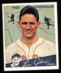 1934 Goudey Reprint #93  Fred Ostermueller  Front Thumbnail