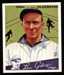 1934 Goudey Reprints #38  Oral Hildebrand  Front Thumbnail
