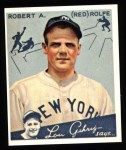 1934 Goudey Reprint #94  Red Rolfe  Front Thumbnail