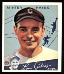 1934 Goudey Reprint #63  Minter Hayes  Front Thumbnail