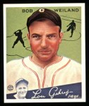 1934 Goudey Reprint #67  Bob Weiland  Front Thumbnail