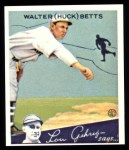 1934 Goudey Reprint #36  Walter Betts  Front Thumbnail