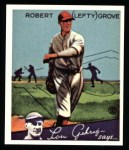 1934 Goudey Reprint #19  Lefty Grove  Front Thumbnail