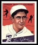 1934 Goudey Reprint #2  Mickey Cochrane  Front Thumbnail
