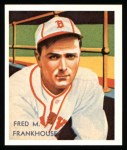 1934 Diamond Stars Reprint #62  Fred M. Frankhouse  Front Thumbnail