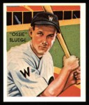 1934 Diamond Stars Reprint #71  Ossie Bluege  Front Thumbnail