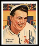 1934 Diamond Stars Reprints #21  Johnny Vergez  Front Thumbnail
