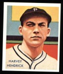 1934 Diamond Stars Reprint #41  Harvey Hendrick  Front Thumbnail
