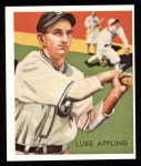 1934 Diamond Stars Reprint #95  Luke Appling  Front Thumbnail