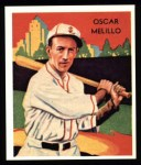 1934 Diamond Stars Reprint #53  Oscar Melillo  Front Thumbnail