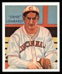 1934 Diamond Stars Reprint #105  Ernie Lombardi  Front Thumbnail