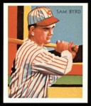 1934 Diamond Stars Reprint #84  Sam Byrd  Front Thumbnail