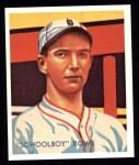 1934 Diamond Stars Reprint #33  Schoolboy Rowe  Front Thumbnail