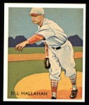 1934 Diamond Stars Reprint #23  Bill Hallahan  Front Thumbnail