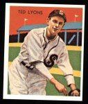 1934 Diamond Stars Reprint #43  Ted Lyons  Front Thumbnail