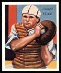 1934 Diamond Stars Reprint #64  Jimmie Foxx  Front Thumbnail