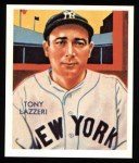 1934 Diamond Stars Reprint #74  Tony Lazzeri  Front Thumbnail