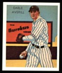 1934 Diamond Stars Reprint #35  Earle Averill  Front Thumbnail