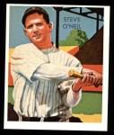 1934 Diamond Stars Reprint #87  Steve O'Neil   Front Thumbnail