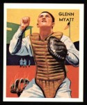 1934 Diamond Stars Reprints #58  Glenn Myatt  Front Thumbnail