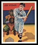 1934 Diamond Stars Reprint #8  Joe Vosmik  Front Thumbnail