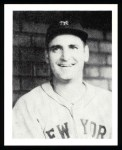 1939 Play Ball Reprint #144  Zeke Bonura  Front Thumbnail