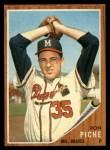 1962 Topps #582  Ron Piche  Front Thumbnail