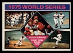 1976 Topps #462   1975 World Series - Reds Champs Front Thumbnail