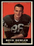 1961 Topps #43  Boyd Dowler  Front Thumbnail