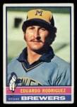 1976 Topps #92  Eduardo Rodriguez  Front Thumbnail
