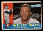 1960 Topps #200  Willie Mays  Front Thumbnail