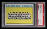 1964 Topps #473   Orioles Team Front Thumbnail