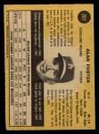 1971 O-Pee-Chee #207  Alan Foster  Back Thumbnail