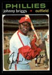 1971 O-Pee-Chee #297  Johnny Briggs  Front Thumbnail