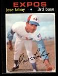 1971 O-Pee-Chee #132  Jose Laboy  Front Thumbnail
