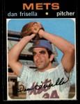 1971 O-Pee-Chee #104  Danny Frisella  Front Thumbnail