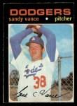 1971 O-Pee-Chee #34  Sandy Vance  Front Thumbnail