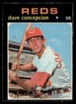 1971 O-Pee-Chee #14  Dave Concepcion  Front Thumbnail