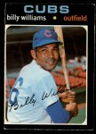 1971 O-Pee-Chee #350  Billy Williams  Front Thumbnail