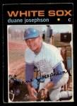 1971 O-Pee-Chee #56  Duane Josephson  Front Thumbnail