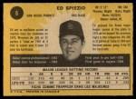 1971 O-Pee-Chee #6  Ed Spiezio  Back Thumbnail
