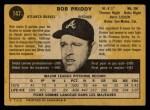 1971 O-Pee-Chee #147  Bob Priddy  Back Thumbnail