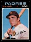 1971 O-Pee-Chee #134  Jose Arcia  Front Thumbnail