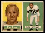 1957 Topps #52  Ken Konz  Front Thumbnail