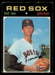 1971 O-Pee-Chee #58  Bill Lee  Front Thumbnail