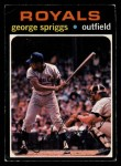 1971 O-Pee-Chee #411  George Spriggs  Front Thumbnail