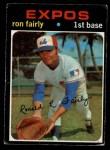 1971 O-Pee-Chee #315  Ron Fairly  Front Thumbnail